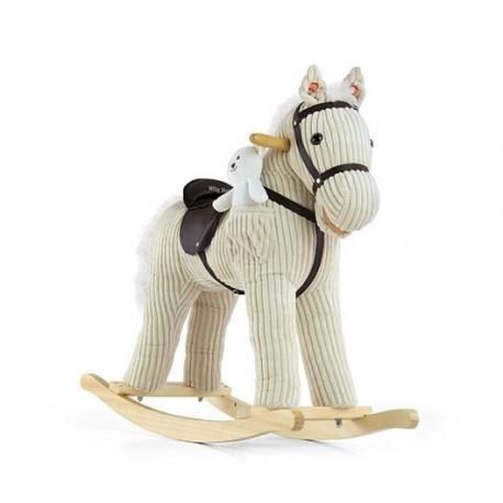 Rocking horse Pony beige