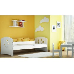 Solid pine wood junior bed Molly