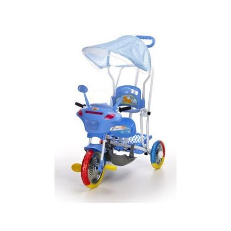 Trike Motorcycle blue