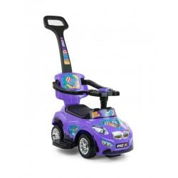 Ride-on car 3 in 1 HAPPY purple