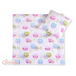 Pram bedding Owls