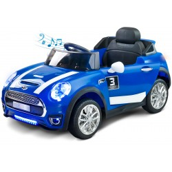 Electric ride-on car Maxi 12V blue with remote control
