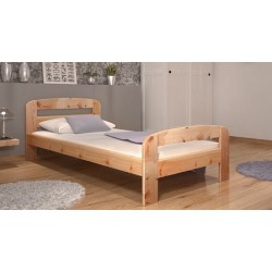 Solid pine wood bed Diego 200x90 cm