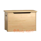 Solid wood chest for toys