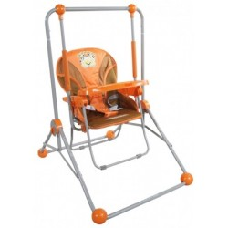 Swing and chair 2 in 1 orange