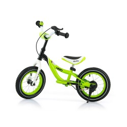 Hero - balance bike with brake - green