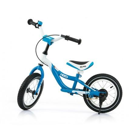 Hero - balance bike with brake - turquoise
