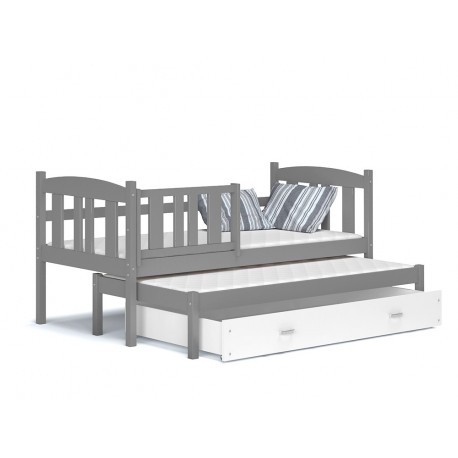 Trundle roll-out bed with drawer Jacob 180x80 cm
