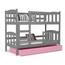 Bunk bed Bambi with drawer 160x70 cm