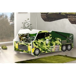 Army Truck junior bed 140x70 cm