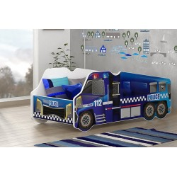 Police Truck junior bed 140x70 cm