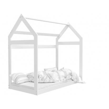 Solid pine wood junior toddler bed House 180x80 cm
