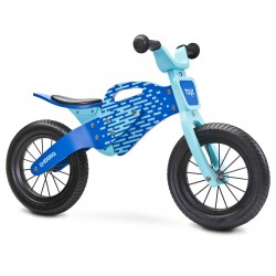 Balance running bike Enduro blue