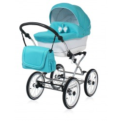 Classic pram Candy Turquoise 3 in 1 travel system