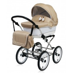 Classic pram Candy Beige 3 in 1 travel system
