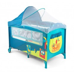 Travel cot with changer Mirage Jungle