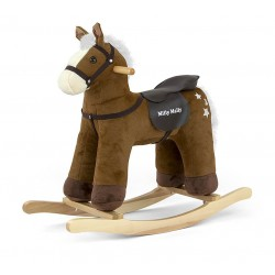 Rocking horse Pepe brown