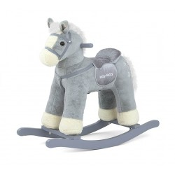 Rocking horse Pepe gray
