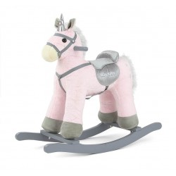 Rocking horse Pepe pink Unicorn