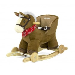 Rocking horse Polly brown