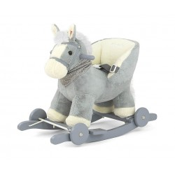 Rocking horse Polly gray